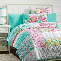 Sunset Beach Quilt + Sham