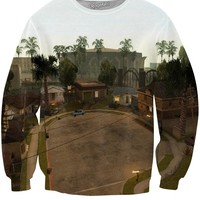 Grand Theft Auto Grove Street Crewneck Sweatshirt