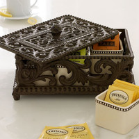 GG Collection Five-Section Divided Tea Box