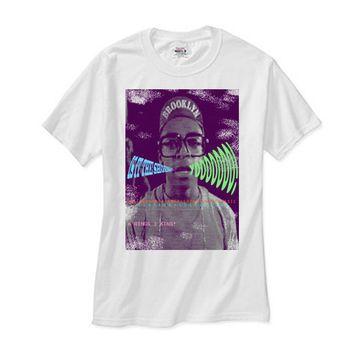 """Spike Lee Mars Blackmon """"Is it the shoes?"""" white tee"""