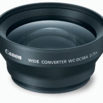 Canon WC-DC58A Wide Converter Lens for the S5 IS, S3 IS & S2 IS Digital Camera