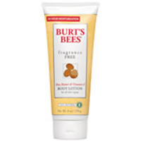 Burt's Bees Body Care Shea Butter & Vitamin E, Fragrance-Free 6 oz. Body Lotions