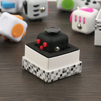 Original Fidget Cube Kickstarter Relieves Stress and Anxiety Puzzle Spinner Dice Toys For Children and Kids Fidget Cube Case Toy