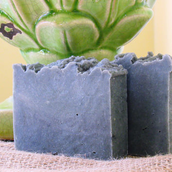 All-Natural Activated Black Charcoal Handmade Vegan Soap
