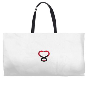 ONE IN TWO SNAKES Weekender Totes