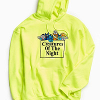 NoHOURS Creatures Of Night Hoodie Sweatshirt | Urban Outfitters