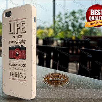 Photography Quote Iphone 4, 4s, Iphone 5, 5s, Iphone 5c Case, Iphone 3D Case Wrap All