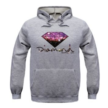 Star Diamonds plus vest Hooded Sweatshirt Hoodies Men and women GRAY(8 color)