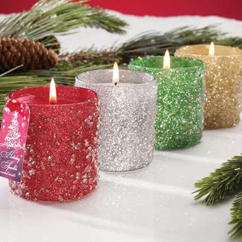 8 Peppermint Scented Candles - Scent: Peppermint