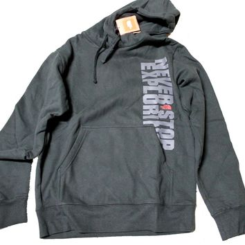 The North Face Block Party Pull-over Hoodie Men's Black/Gray Outdoor Sweater Shirt