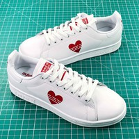 Adidas Stan Smith Valentine's Day Love White Shoes - Sale