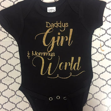 Daddy's girl and mommys world TOP