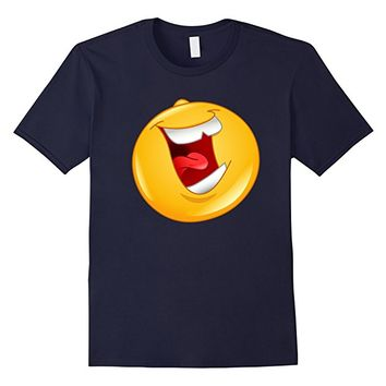 Emoji Shirt Laughing out Loud Emoticon