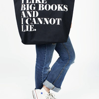 I Like Big Books jumbo tote