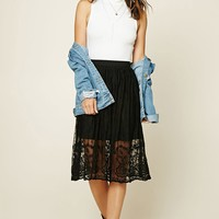 Contemporary Embroidered Skirt