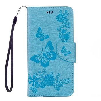 'Butterflies Of Paradise' iPhone 7 6 6s Plus Wallet