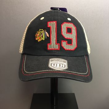 Chicago Blackhawks Adjustable Trey Mesh Jonathan Toews #19 Snapback