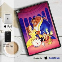 "Disney Beauty and The Beast iPad 2 3 4 iPad Mini 1 2 3 4 iPad Air 1 2 | Samsung Galaxy Tab 10.1"" Tab 2 7"" Tab 3 7"" Tab 3 8"" Tab 4 7"" Case"