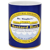 Mustard Bath - 8 oz. by Dr. Singha's Natural Therapeutics (pack of 1) - Walmart.com