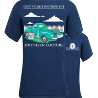 Southern Couture Simple Southern Livin Comfort Colors T-Shirt