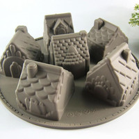 Silicone Gingerbread House Mold