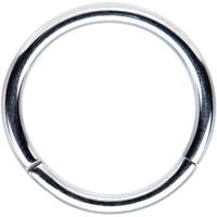 16 Gauge Stainless Steel Segment Ring Circular Barbell 3/8"