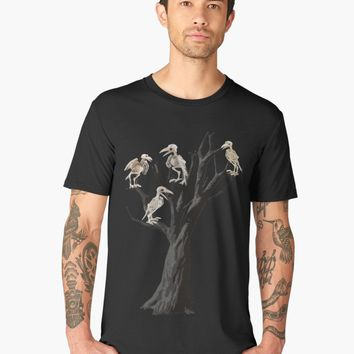 'Dead tree ' Men's Premium T-Shirt by ValentinaHramov