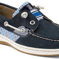 Sperry Top-Sider Rainbowfish Slip-On Boat Shoe Navy/FishStripe, Size 8M  Women's Shoes