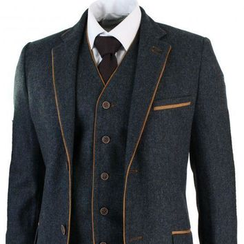 Linen Tweed Pattern Suit