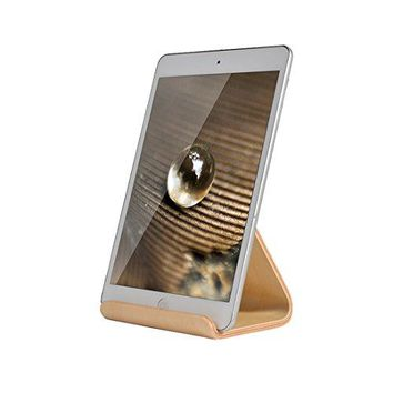 SAMDI Wood iPad Stand iPad Holder Wood Stand for iPad Pro 97 105 Air mini 2 3 4 Kindle Nexus Tab Ereader other Tablets 413 inch  White Birch