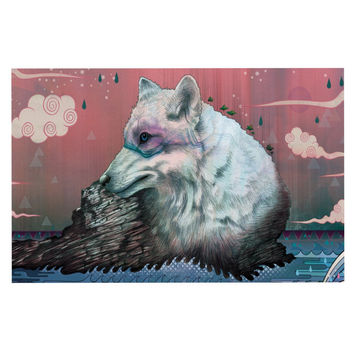 "Mat Miller ""Lone Wolf"" Decorative Door Mat"