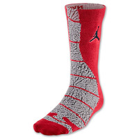 Men's Jordan Elephant Print Crew Socks