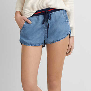 AEO Jogger Short, Easy Breezy Blue