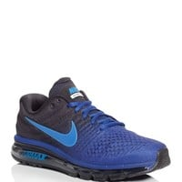 Nike Men's Air Max 2017 Lace Up Running Shoes | Bloomingdales's