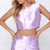 Glamorous Love or Luster Lavender Two-Piece Set