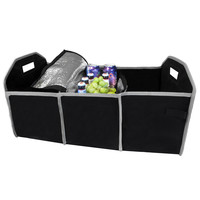Evelots Collapsible Trunk Organizer & Removable Cooler,Car/Truck/Vehicle Storage