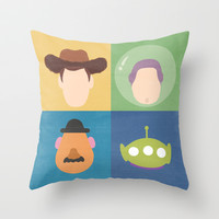 Toy Story Throw Pillow by Raquel Segal | Society6