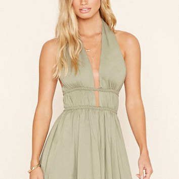 Selfie Leslie Halter Dress | Forever 21 - 2000199046