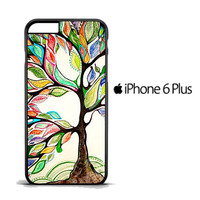 Tree of Life Oil Paint iPhone 6 PLus Case