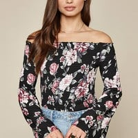LA Hearts Smocked Flare Sleeve Top at PacSun.com