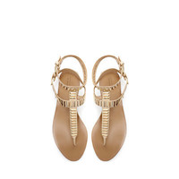 SANDAL WITH METAL DETAIL - Shoes - Woman | ZARA United States
