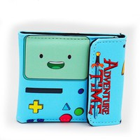 Adventure Time Short Style Colorful Wallet