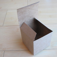 10 Medium 3 x 3 x 3 Kraft boxes Perfect for by CreativeJuiceCafe