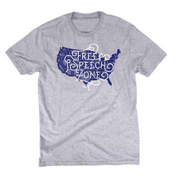 Free Speech Zone Graphic Tee