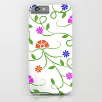 Alternate Flowers iPhone & iPod Case by KJ53321