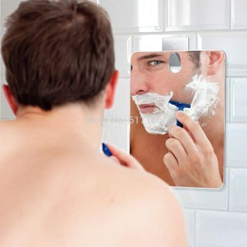 [ Fly Eagle ] Shower Shaving Shave Fogless Mirror Bathroom Fog Free Makeup Reflection Glass Men