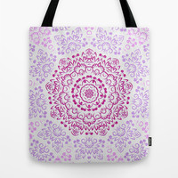 A Glittering Colorful Mandala 2 Tote Bag by Octavia Soldani | Society6