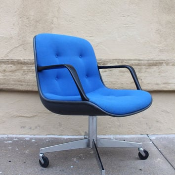 Blue Steelcase 451 Office Chair
