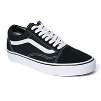 Vans Old Skool Skate Shoe Black/Black