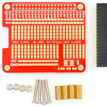 Raspberry Pie 2 's exclusive HAT hole plate DIY welding Kit compatible with Pi type B+/A+